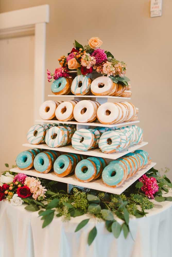 Só donuts por aqui