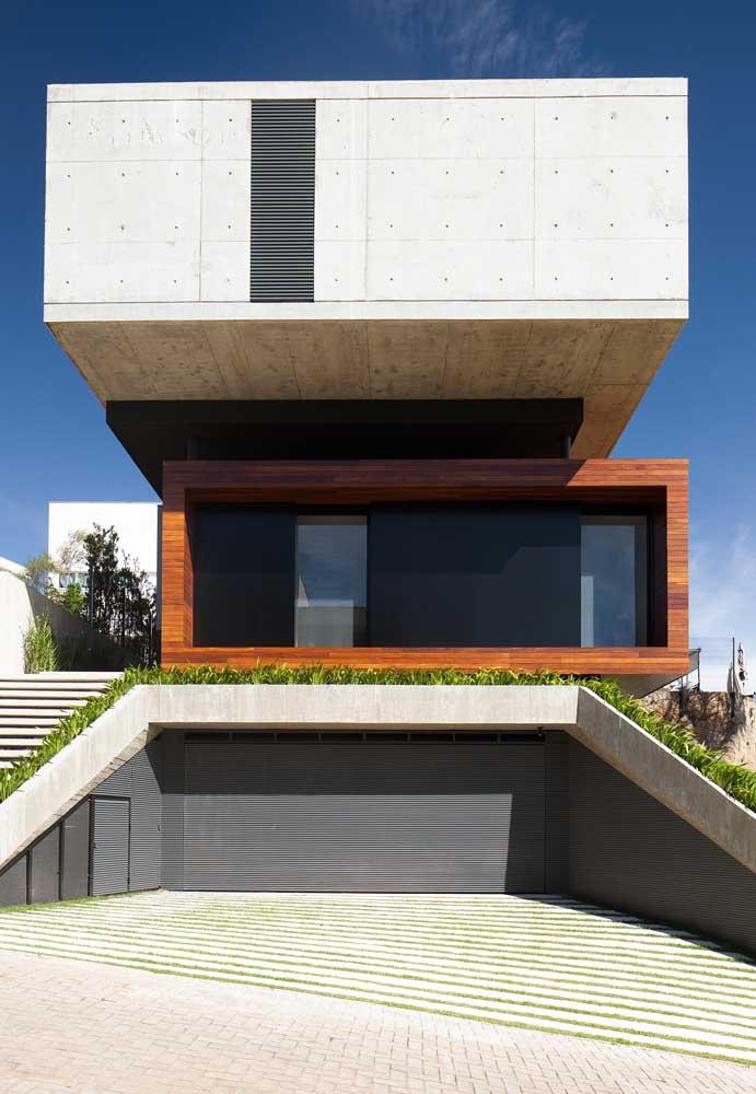 Olha aí mais um modelo de casa para desafiar os limites da imaginação