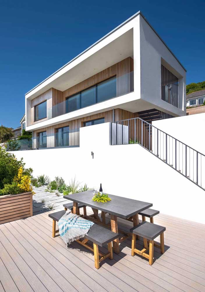 Modelo de casa para quem valoriza a vida ao ar livre