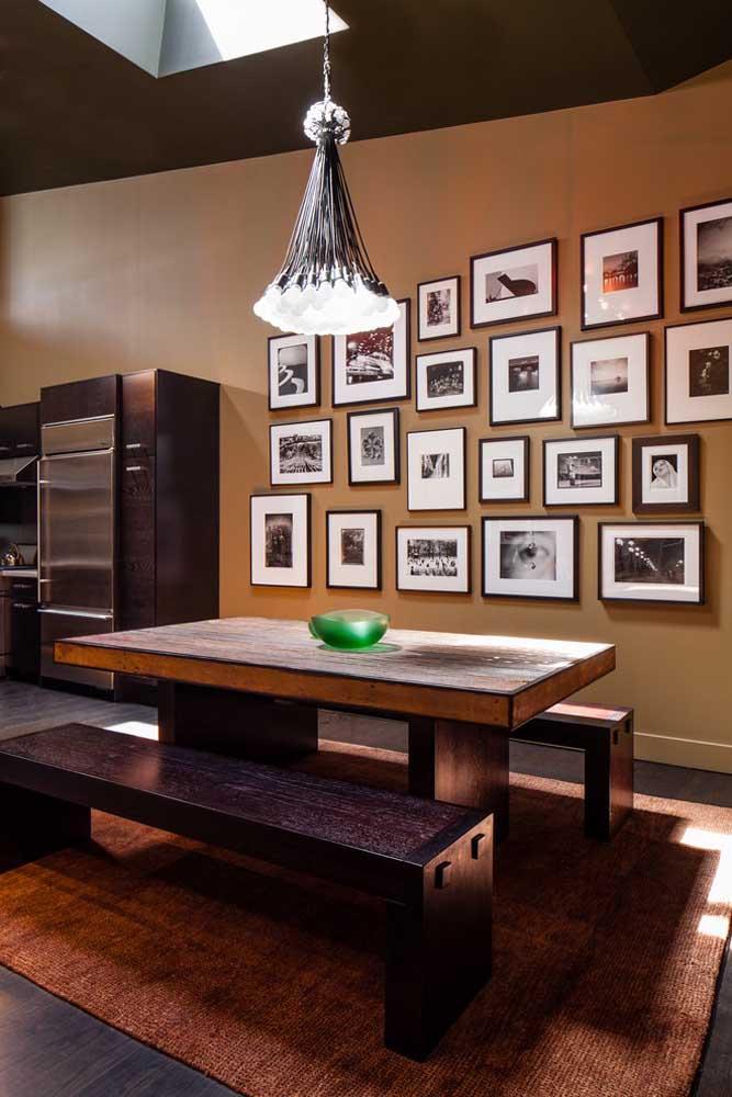 Saiba que é possível fazer um lindo painel de fotos na cozinha para deixar o ambiente mais aconchegante.