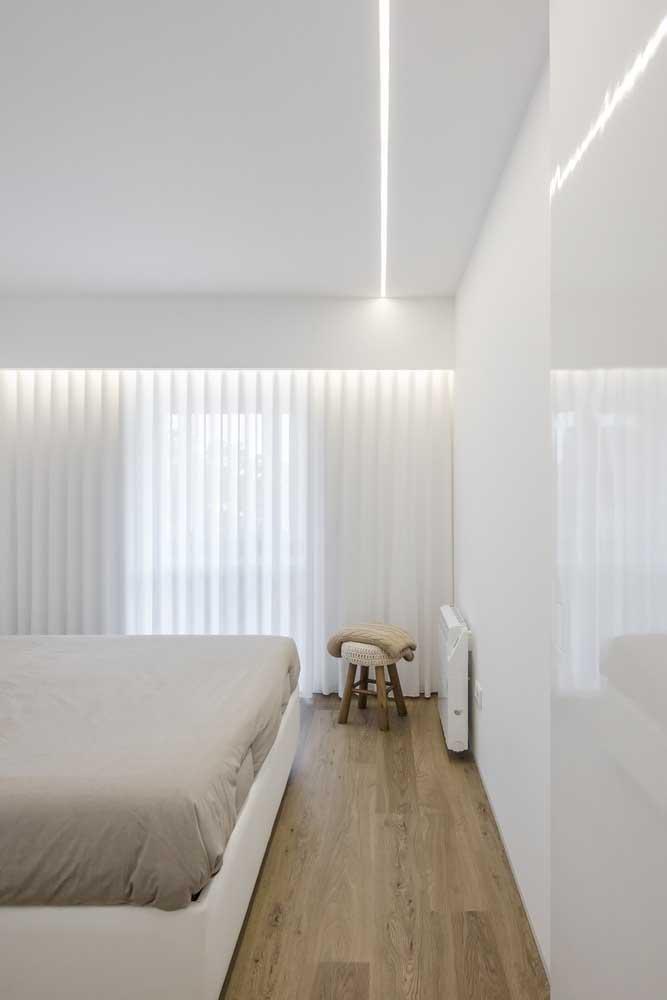 Pisos vinílicos atuam no conforto e isolamento acústico dos ambientes, por isso é super indicado para quartos