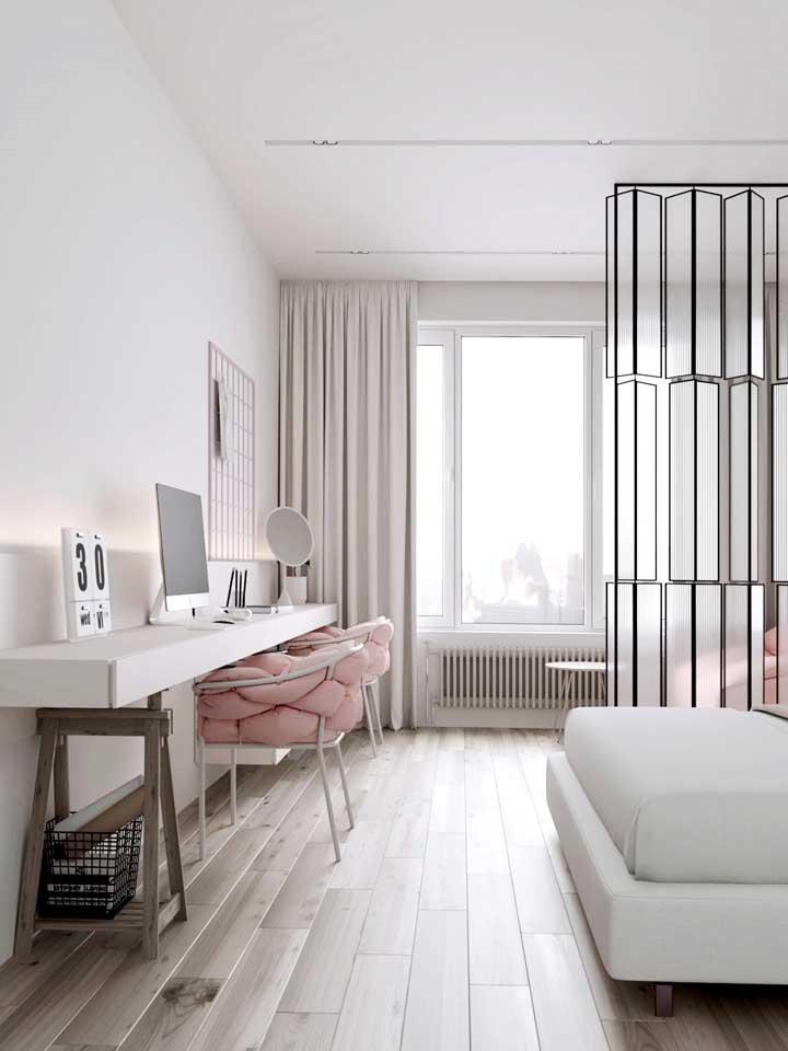 Piso vinílico em réguas para o quarto: conforto e praticidade para o dia a dia