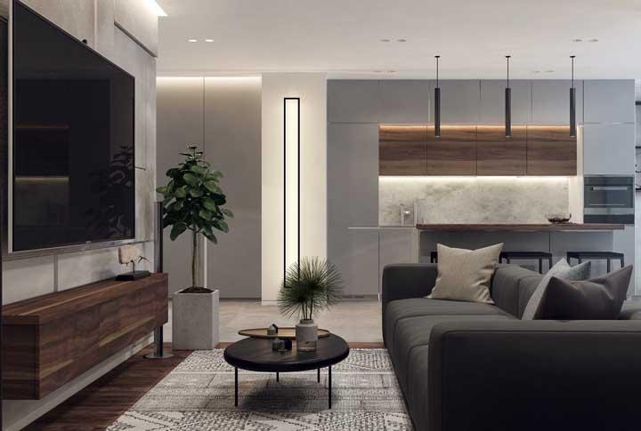 A escolha da iluminação é um ponto fundamental para quem deseja criar um espaço mais moderno.