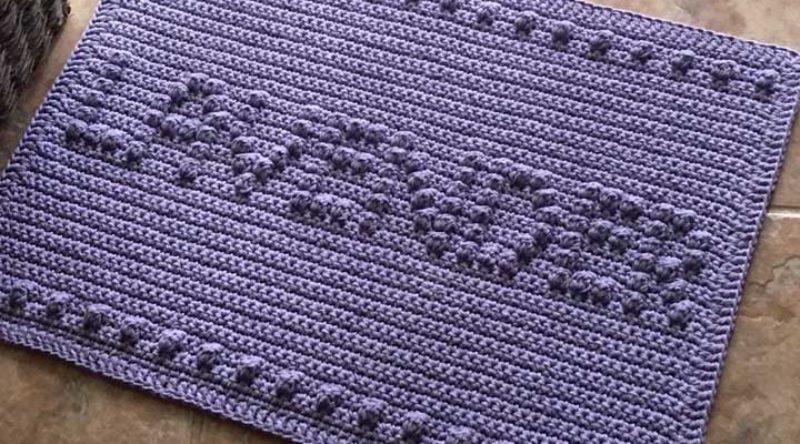 Tapete de crochê para banheiro: como fazer passo a passo e fotos