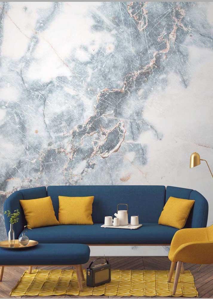 A cor amarela quando inserida na decoração, deixa o ambiente mais vibrante.