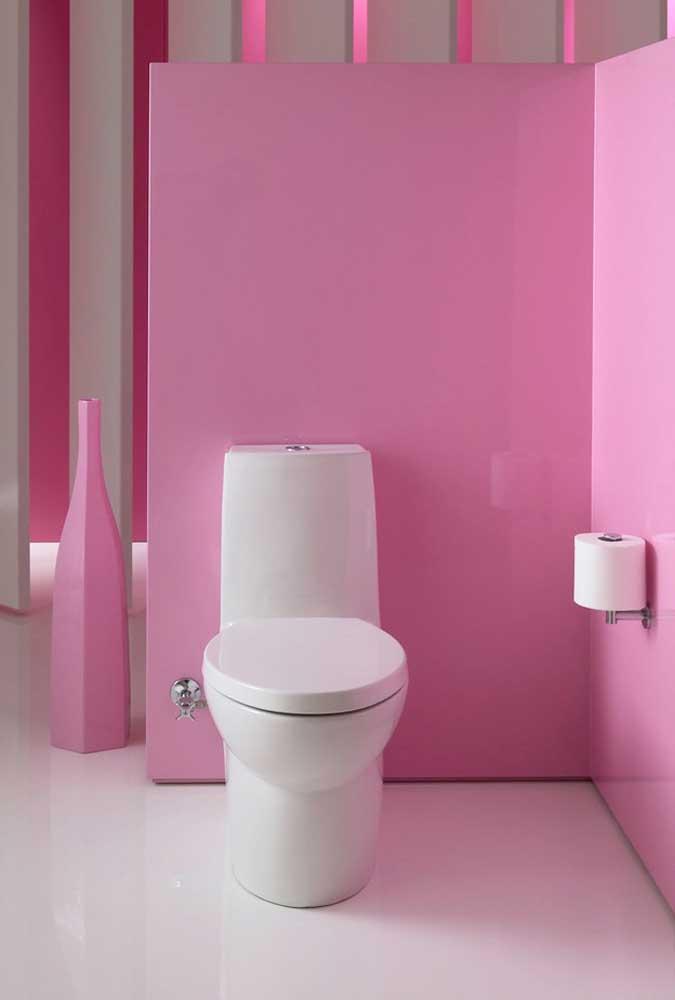 Quer deixar o ambiente totalmente feminino? Aposte na cor pink ou rosa escuro.