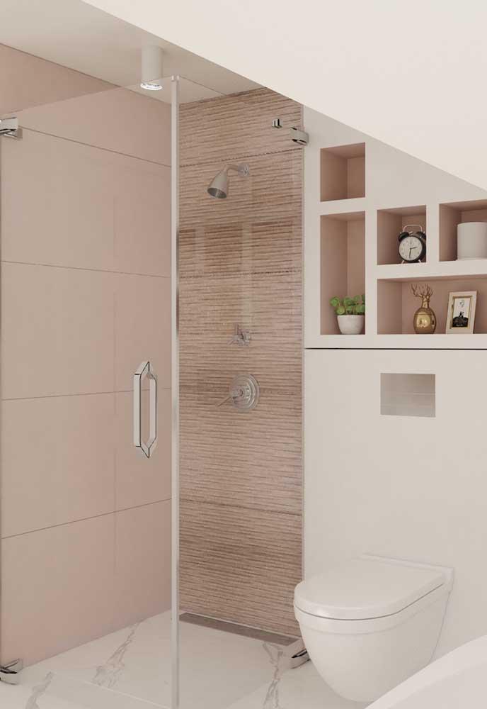 Os detalhes podem fazer uma enorme diferença na decoração do banheiro.