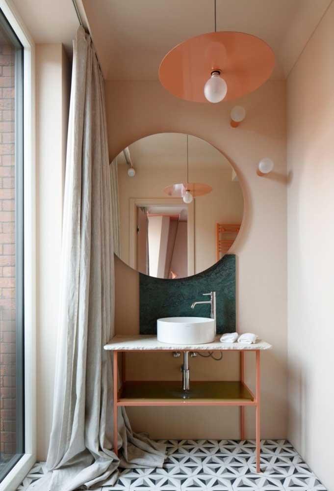 A escolha dos elementos decorativos é uma das partes mais importantes quando você pensa na decoração do banheiro.