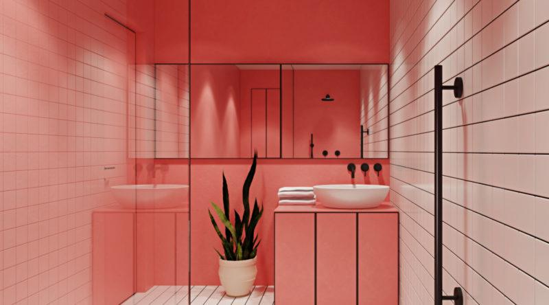 Banheiro rosa: 60 projetos que se inspiraram na cor para decorar