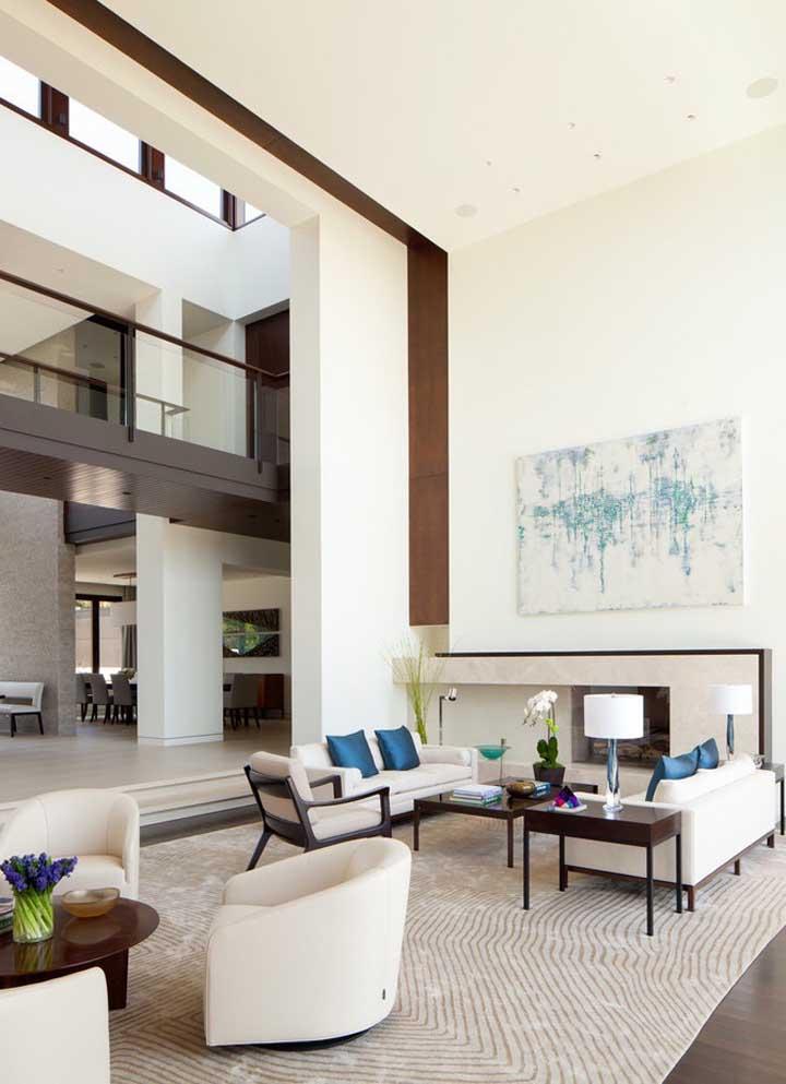 Casa grande por dentro: um projeto clássico e elegante