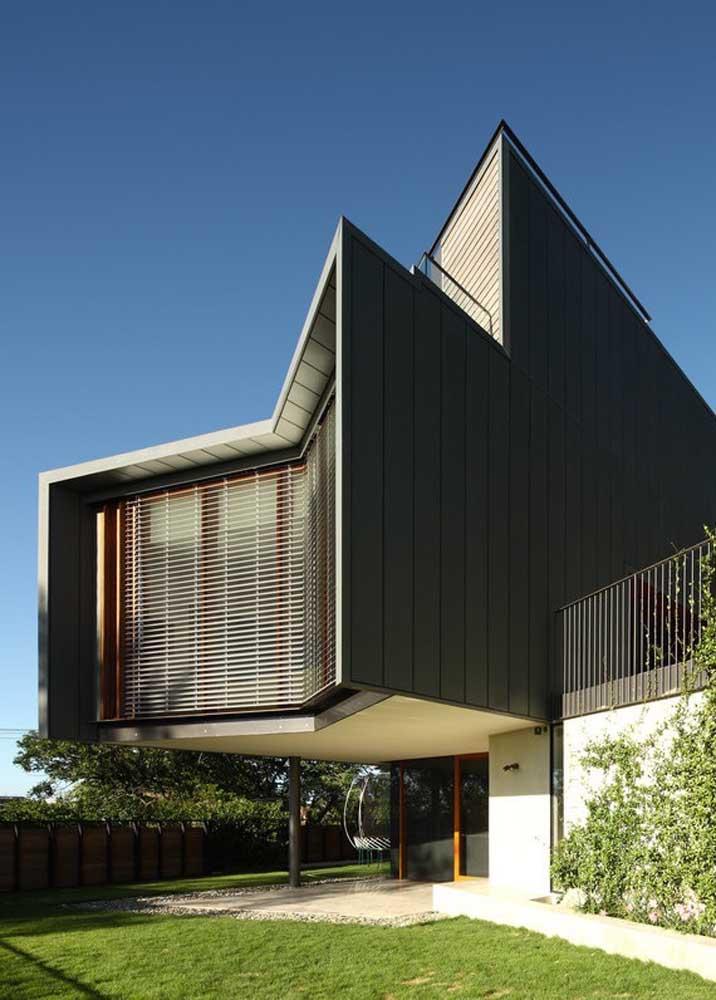 Quer um projeto de casa grande para deixar qualquer um boquiaberto? Esse aqui pode ser o que você procura