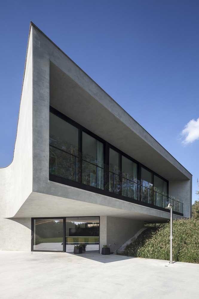 Um belo exemplar da arquitetura moderna! Que tal levar essa referência para o seu projeto?