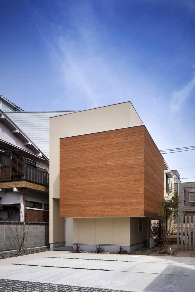 O design moderno e arrojado dessa pequena casa surpreende