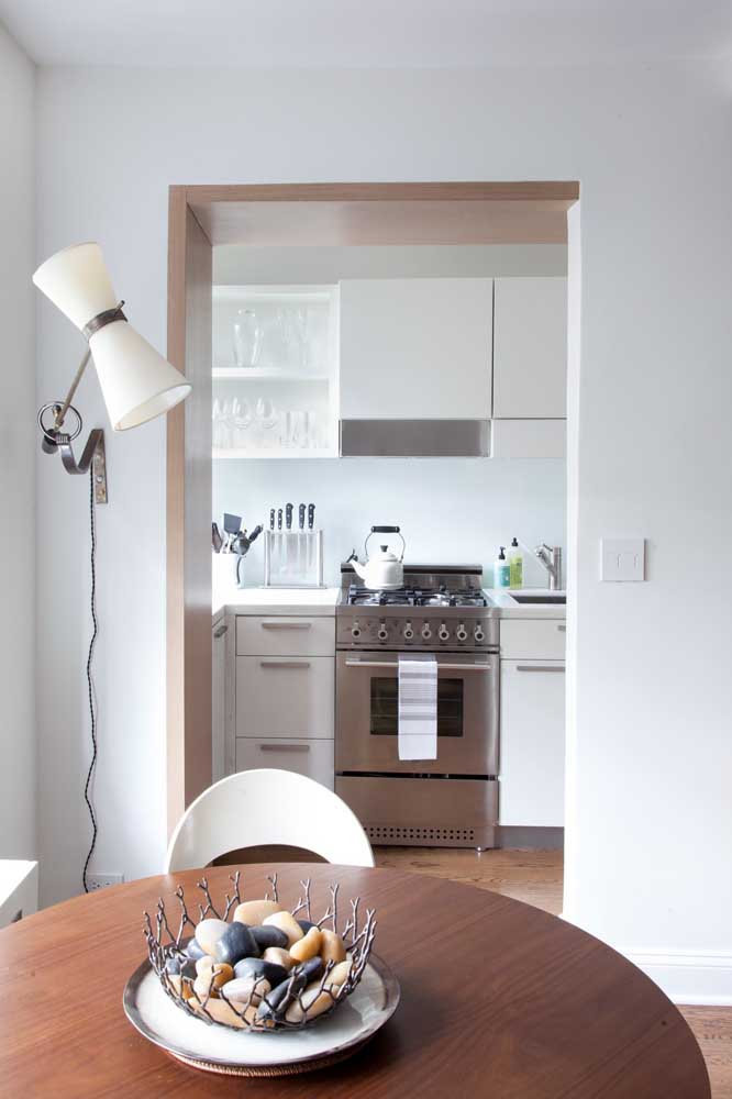 Cozinha e sala de jantar integradas: um marco das construções pequenas e modernas