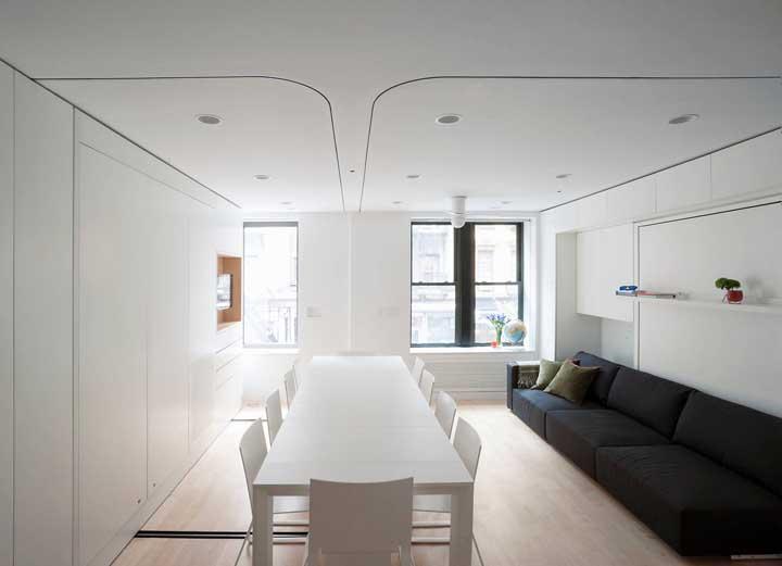 O conceito minimalista se encaixa como uma luva em projetos de casas pequenas