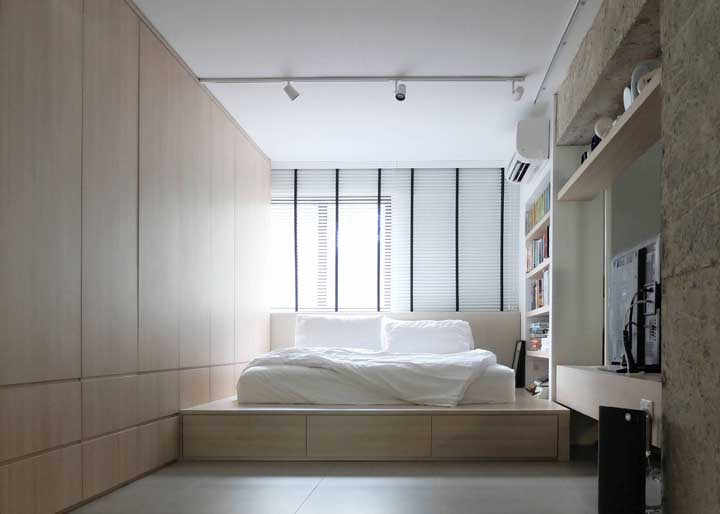 Pode até custar mais caro, mas ao optar por móveis planejados você consegue aproveitar muito melhor o espaço da casa