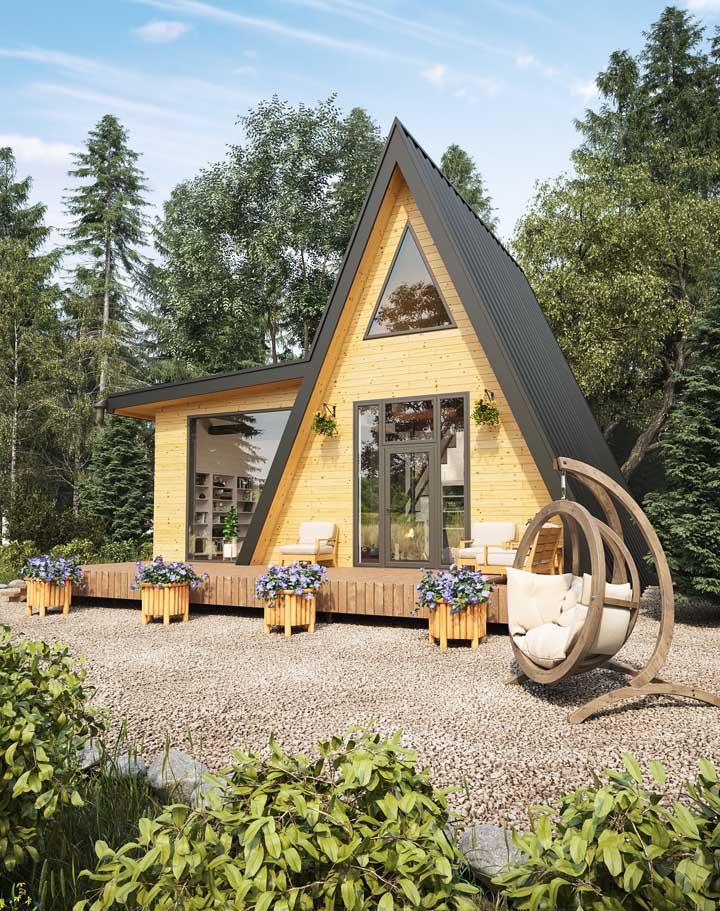 Casas pequenas permitem explorar formas inusitadas e criativas