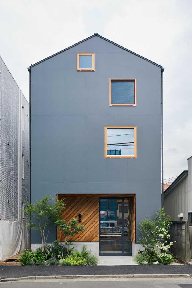 """Fachada de casa simples, moderna e com um """"quê"""" minimalista"""