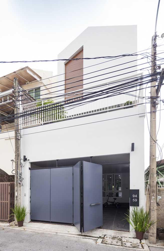 Casa simples com garagem; lembre-se de definir no momento da criação do projeto tudo aquilo que a casa precisa ter para ser funcional, bonita e confortável