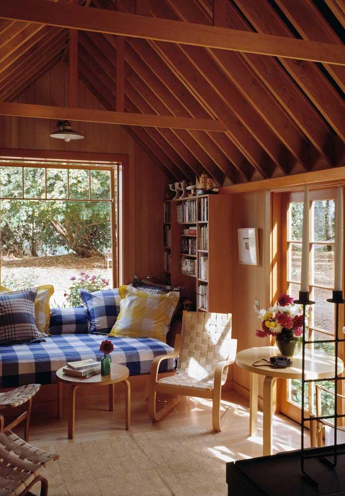 Um sonho de casa simples