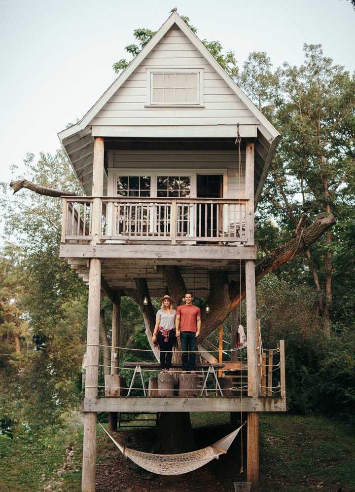 E uma casa na árvore, está na sua lista?