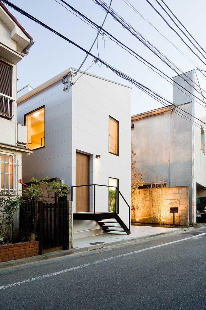 Um design moderno faz toda a diferença para a casa simples