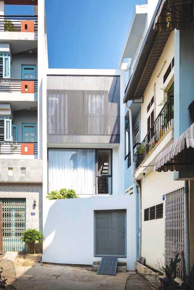 No meio de tantas outras casas, se destacar é um diferencial, e para isso conte com a ajuda de revestimentos diferenciados