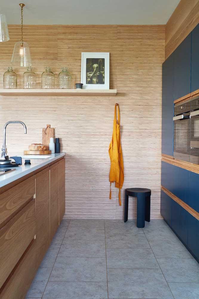 Com planejamento é possível criar uma cozinha americana pequena prática, funcional e linda