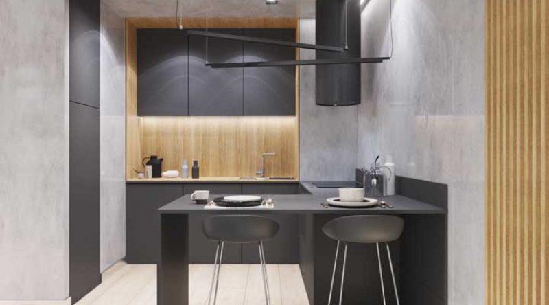 Cozinha americana pequena: 59 modelos inspiradores de decoração