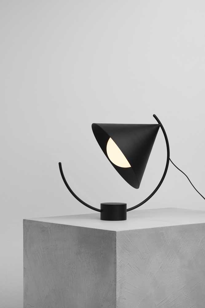 Design é tudo, especialmente quando se fala em luminárias de mesa