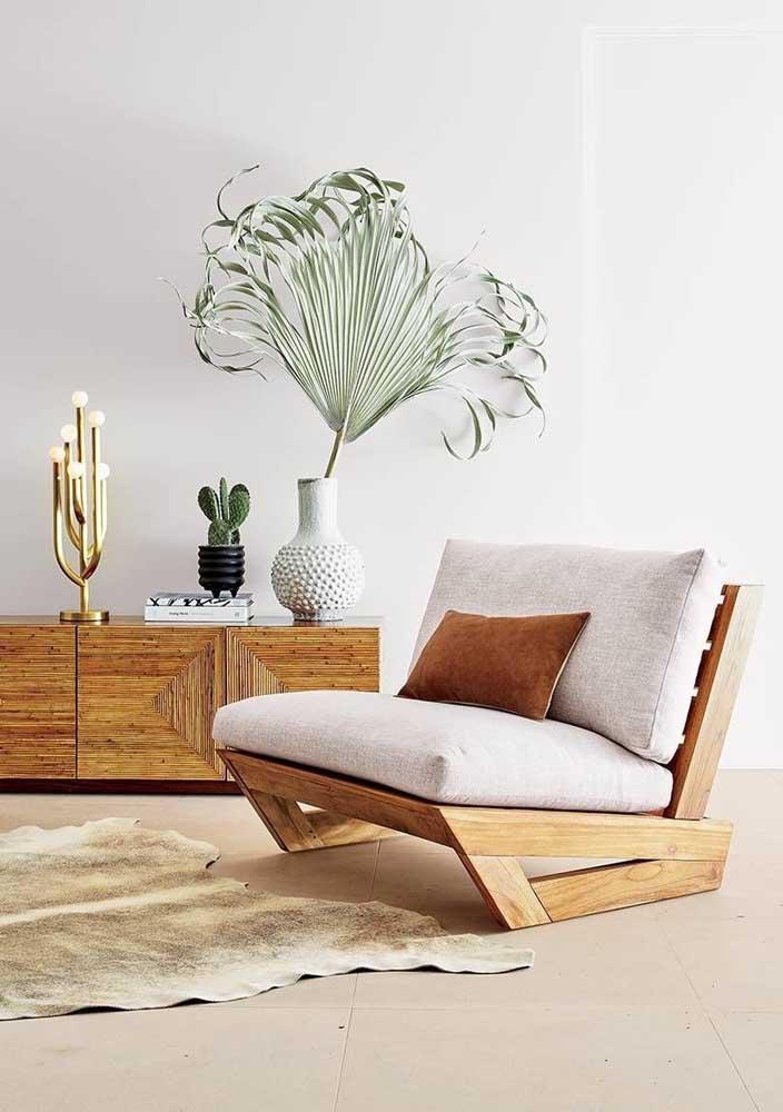 As poltronas são a mobília ideal para quem deseja dar um toque de design na sala de estar
