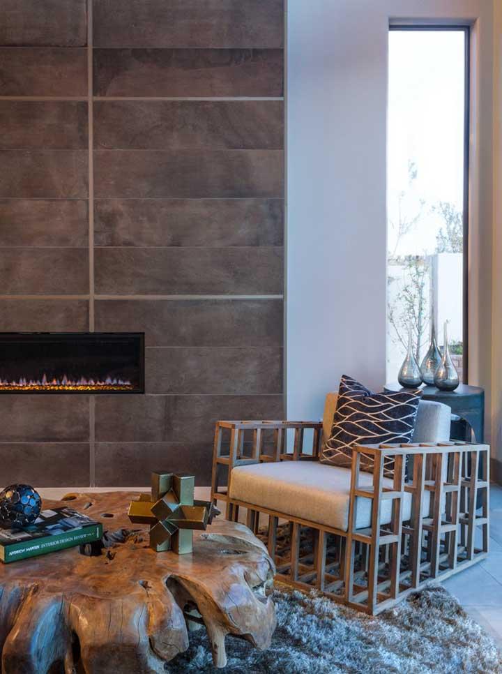 Rústica, criativa e muito original: sempre vai existir um modelo de poltrona para sala perfeito para você