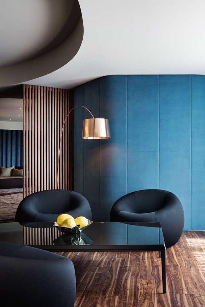 Poltronas para sala em formato redondo: conforto e estilo