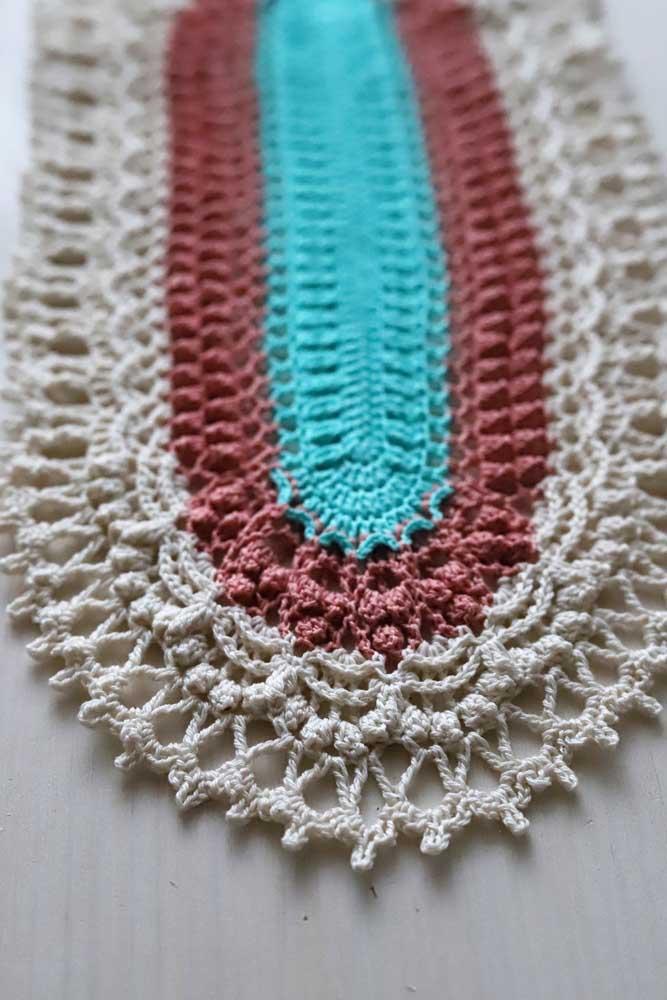 Mas se você deseja algo mais simples, aposte nos modelos de tapete de crochê mais tradicionais.