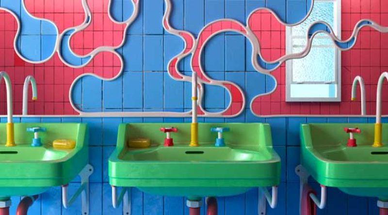 Banheiro colorido: 50 ideias criativas, fotos e projetos