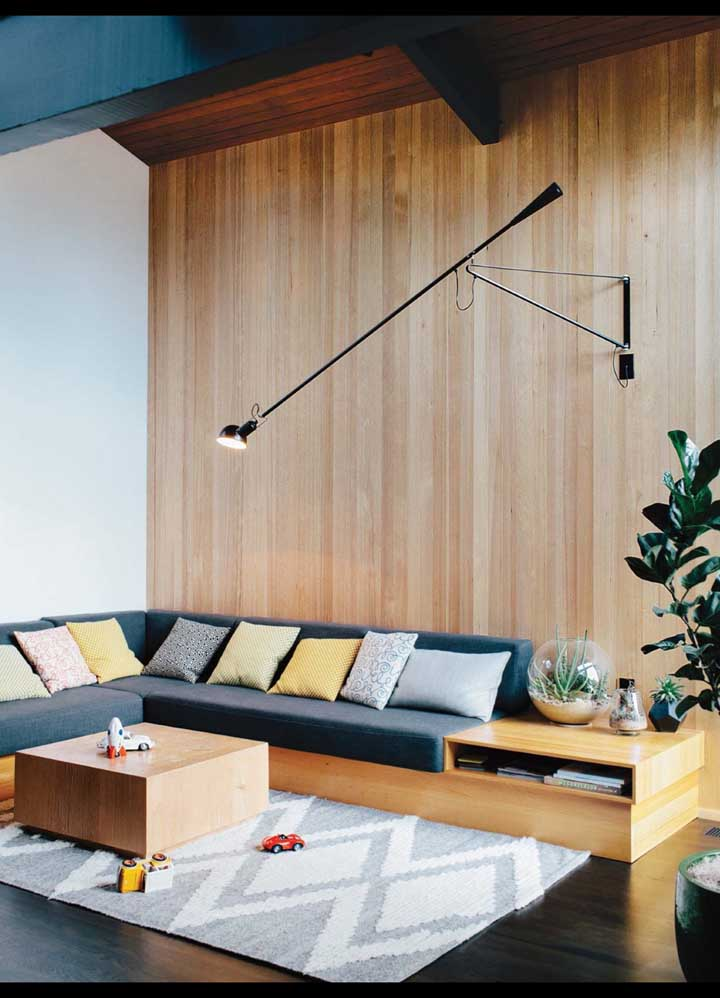 No planejamento da casa você já pode definir a altura do pé direito e a área de circulação dos ambientes