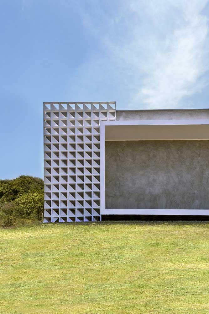 Cobogós na fachada: modo mais clássico e tradicional de uso desses elementos