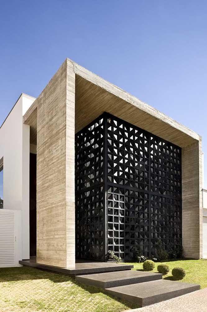 Cobogós ao invés de muros: segurança, proteção e estética no mesmo projeto