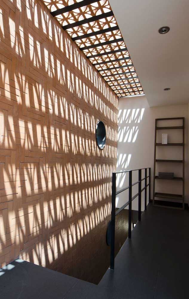 Cobogós no teto: outra maneira interessante de trazer luminosidade para os ambientes