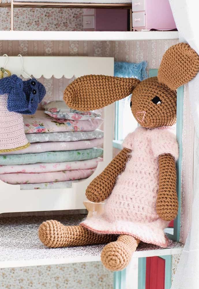 Aproveite a páscoa para decorar o quarto do bebê com peças delicadas e fofas.
