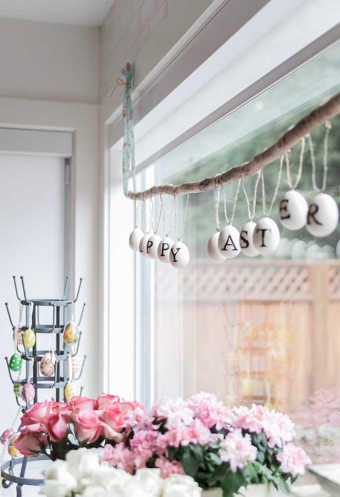 Aposte em ideias criativas na hora de decorar sua casa para a páscoa.