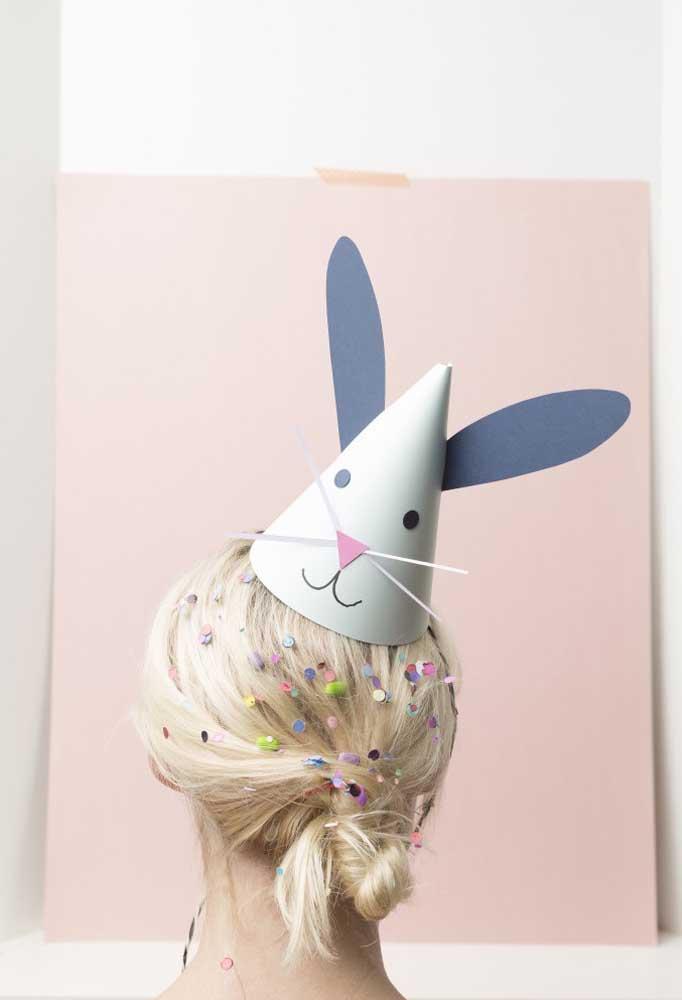 Deixe todo mundo no ritmo da páscoa com chapéus inspirados no coelhinho da páscoa.