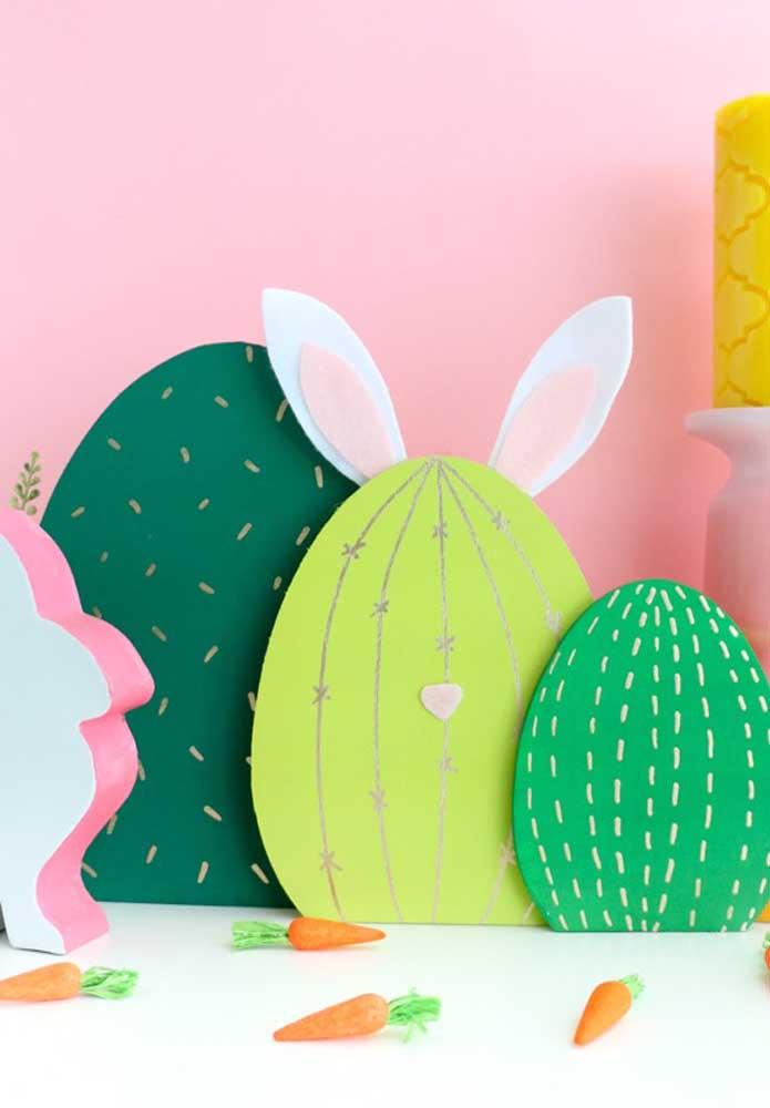 Prepare ovos de modelos diferentes para decorar a sua páscoa.