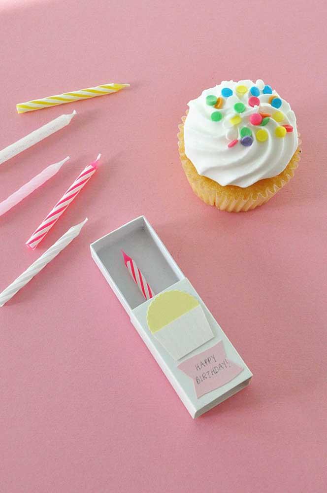 Troque a caixa por um cupcake: uma opção simples, gostosa e muito barata