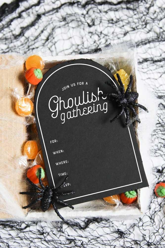 Até o Halloween entrou na onda da festa na caixa