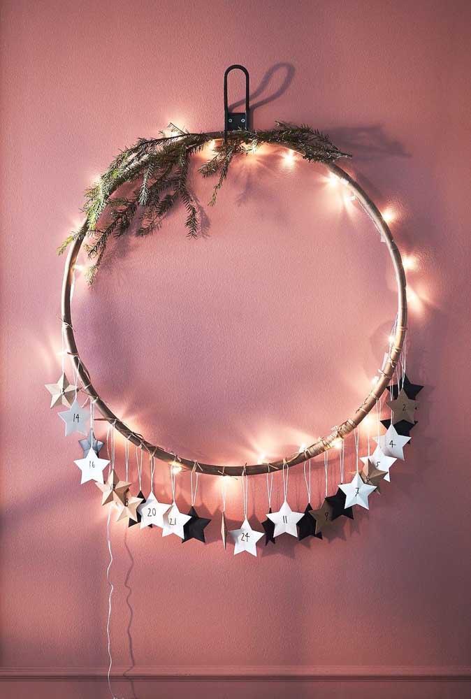 Estrelas e luzes