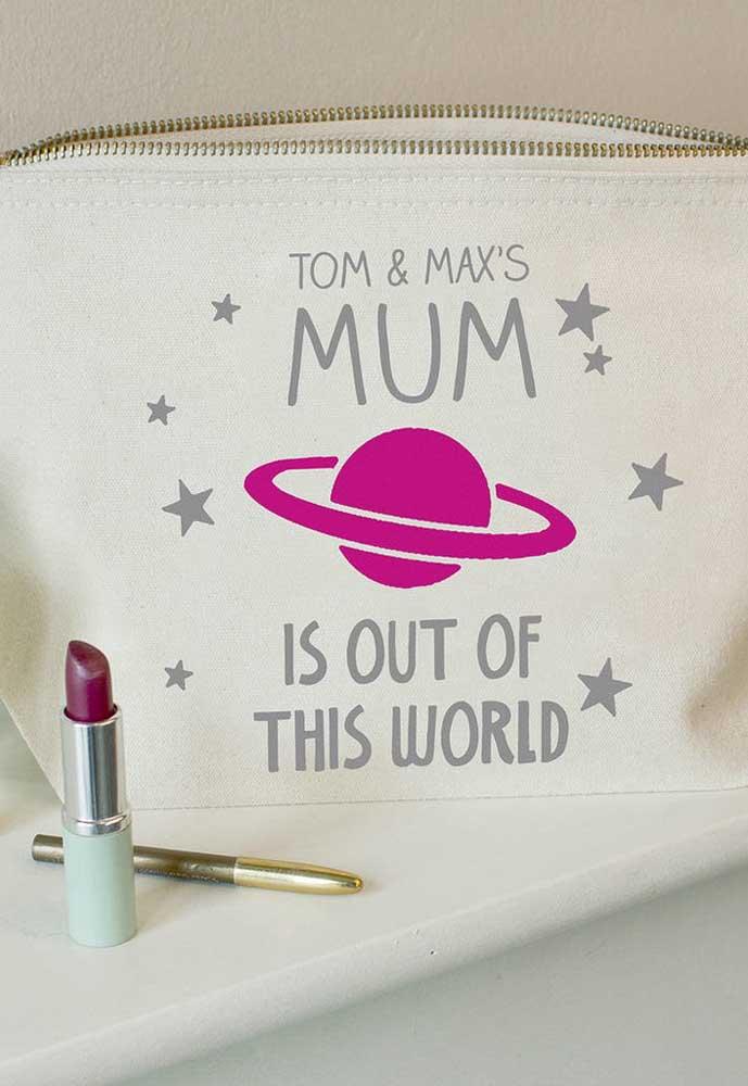 Quer presente mais fashion do que esse? Sua mãe vai adorar!