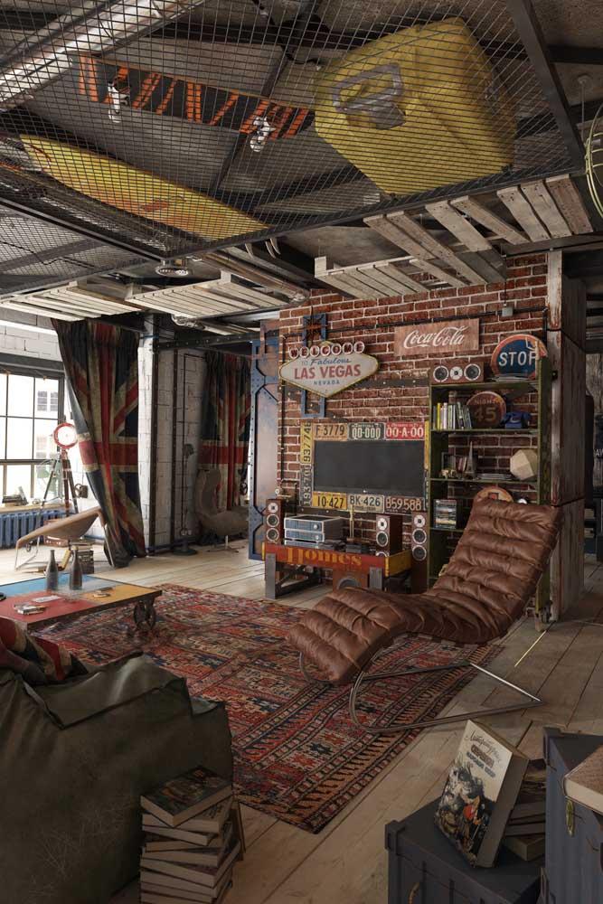 Amplo e confortável, esse quarto gamer é uma inspiração