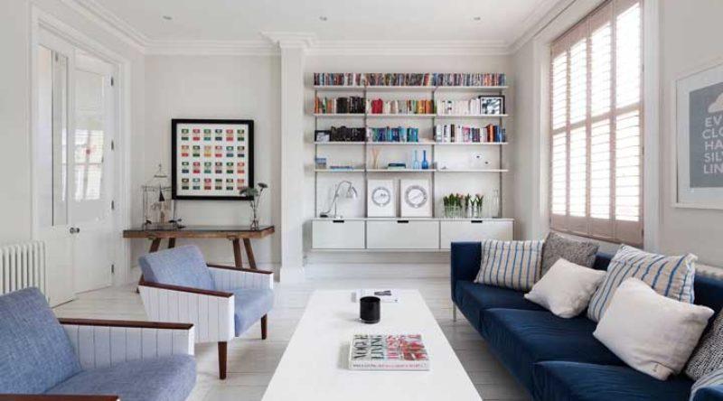 Sofá azul: 60 modelos inspiradores na decoração da sala