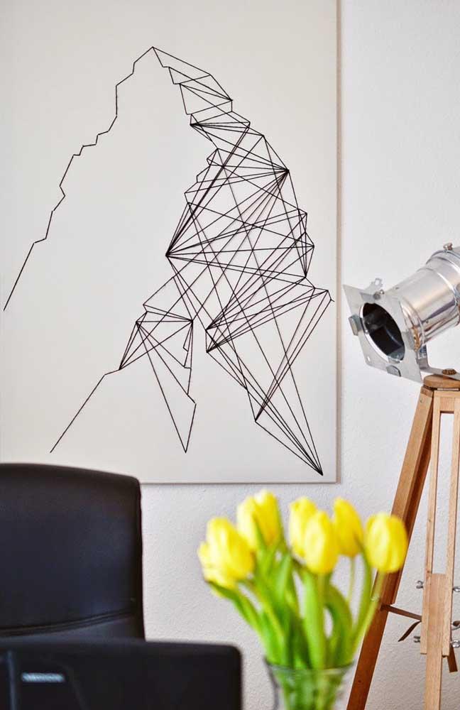 E tem inspiração String Art para os minimalistas também!